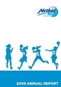 online magazine - Netball NSW Annual Report - 2009