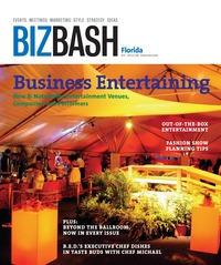 online magazine - BizBash Florida June-July 2008