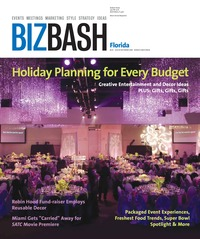 online magazine - BizBash Florida August-September 2008