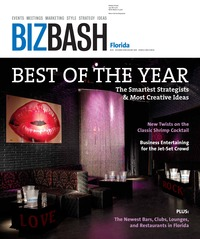 online magazine - BizBash Florida December 2008 - January 2009