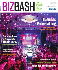 online magazine - BizBash Florida October 2009
