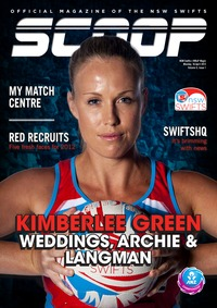online magazine - NSW Swifts SCOOP - Issue 1, Volume 5