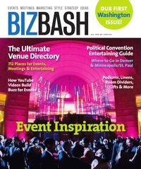 online magazine - BizBash Washington DC Spring 2008
