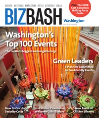 online magazine - BizBash Washington DC Fall 2008