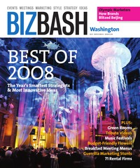 online magazine - BizBash Washington DC Winter 2008 - 2009