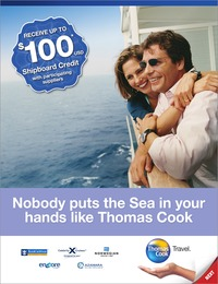 online magazine - Thomas Cook Cruise Brochure