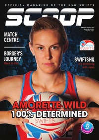 online magazine - NSW Swifts SCOOP - Issue 7, Volume 5