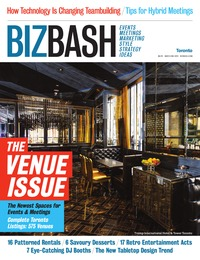online magazine - BizBash Toronto May-June 2012