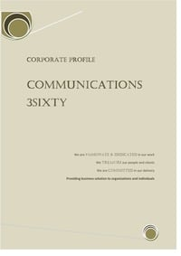 online magazine - Communications 3sixty profile