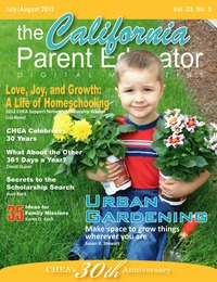 online magazine - California Parent Educator July 2012