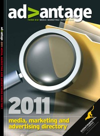 online magazine - Advantage 2011 media, marketing and advertising directory