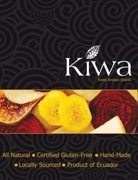 online magazine - Kiwa 100% Vegetable Crisps