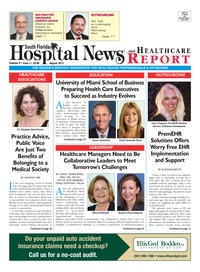 online magazine - South Florida Hospital News and Healthcare Report