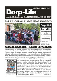 online magazine - Dorp-Life Issue 10 - 14 August 2012