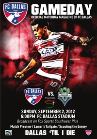 online magazine - Sept. 2: FC Dallas vs. Seattle Sounders FC