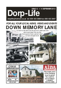 online magazine - Dorp-Life Issue 12 - 14 September 2012