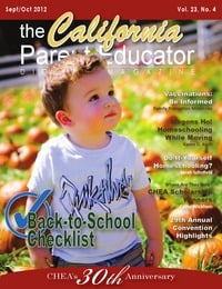 online magazine - California Parent Educator September 2012