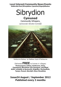 online magazine - Sibrydion Cymuned  August September issue