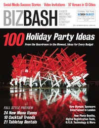 online magazine - BizBash Washington D.C. Sept-Oct 2012 Holiday Issue