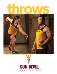 online magazine - Sun Devils Throws Booklet
