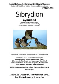online magazine - Sibrydion Cymuned  October /November issue