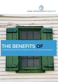 online magazine - The Benefits of Appropriate and Efficient Windows