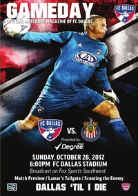 online magazine - GameDay 10/28 vs. Chivas USA
