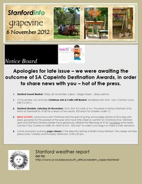online magazine - Stanford Info - The Grapevine