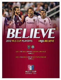 online magazine - RSL v SEA Game Notes 2012 Playoffs