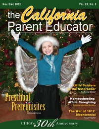 online magazine - California Parent Educator November 2012