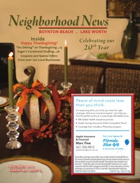 online magazine - Neighborhood News- November 2012 Issue