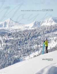 online magazine - Vail/Beaver Creek Group Brochure