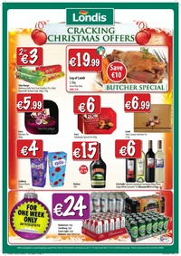 online magazine - Londis Special Offers Available Until 9th December