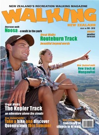 online magazine - Walking New Zealand 180