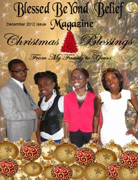 online magazine - Blessed BeYond Belief Magazine December 2012