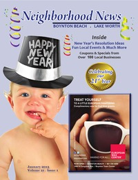 online magazine - Neighborhood News Lake Worth/Boynton Beach- January Issue