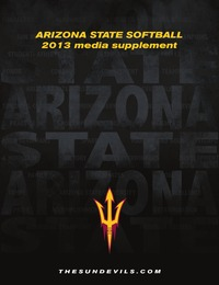 online magazine - 2013 Arizona State Softball Media Supplement