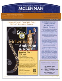 online magazine - MCC Foundation Highlander Quarterly Newsletter Winter Edition