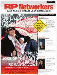 online magazine - February 2013 4th edition RP neworkers Social Media Magazine