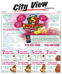 online magazine - City View Magazine - February 2013 issue
