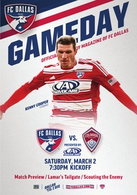 online magazine - March 2 Season Opener vs. Colorado Revised