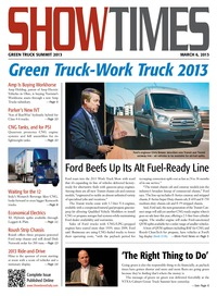 online magazine - ShowTimes Clean Fuels & Vehicle News - March 6, 2013