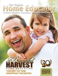online magazine - The Virginia Home Educator Spring Issue 2013