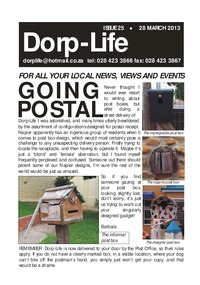online magazine - Dorp-Life Issue 25 -28 March 2013