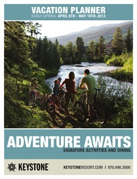 online magazine - Keystone Vacation Planner April 8 - May 19 2013