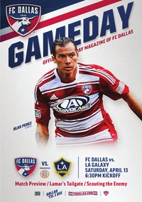 online magazine - April 13 vs. LA Galaxy
