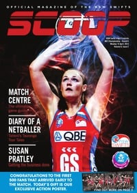 online magazine - NSW Swifts SCOOP - Issue 2, Volume 6