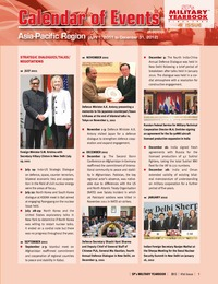 online magazine - SP's Military Yearbook 2013 - Calendar of Events