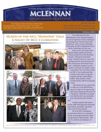 online magazine - Spring 2013 MCC Foundation Highlander Quarterly Newsletter