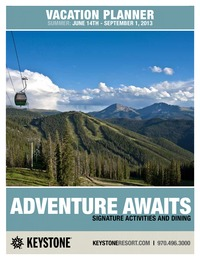 online magazine - 2013 Summer Activities & Dining Guide